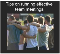 Tips on Running Change Management Team Meetings