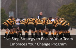 Five Step Strategy to Ensure Your Team Embraces Your Change Program