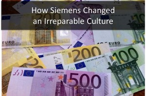 How Siemens Changed an Irreparable Culture