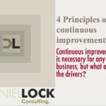 4 principle of continues improvement