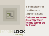 4 principle of continues improvement